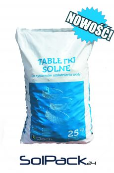 Tabletki solne Sól tabletkowana Ciech 25kg