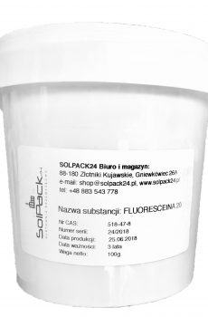 Sól sodowa fluoresceiny - Fluoresceina
